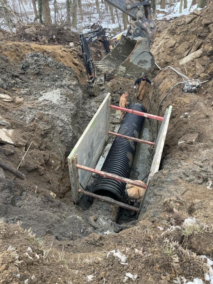 sinkhole repair 2